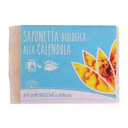 Sapun solid bio cu galbenele pentru piele uscata si delicata, vegan x100g Fior di Loto