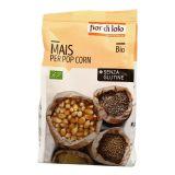 Porumb bio pentru floricele (pop corn) fara gluten x 400g Fior di Loto