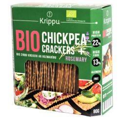 Crackers cu rozmarin bio, vegan, fara gluten x 80g Krippu