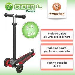 Trotineta Glider XLRed Black Yvolution