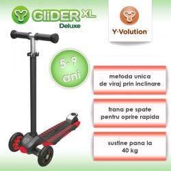 Trotineta Glider XLRed Black Yvolution