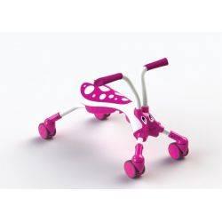 Mookie - Scramble Bug Candy Pink/White