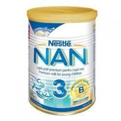 Lapte Praf Nestle Nan3 x 400g de la 12 luni
