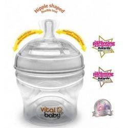Biberon Vital baby Breast-like x 150ml, +0 Vital Baby