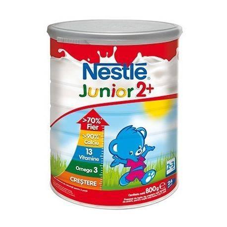 Lapte praf Nestle Junior2+ 800g, 24-36 luni