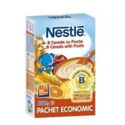 Nestle - 8 Cereale gustoase cu fructe x 500g