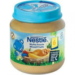 Nestle Piure Multe Fructe x 130g