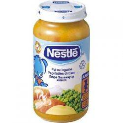 Nestle - Pui cu legume x 250g