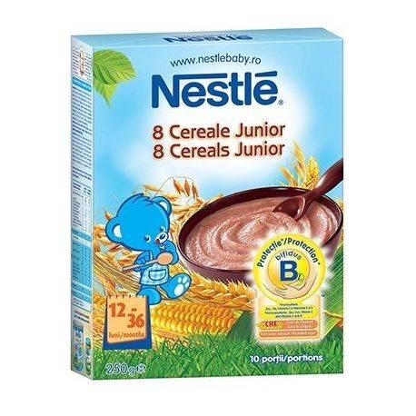 Cereale Nestle 8 Cereale Junior x 250g