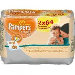 Pampers - Servetele Naturally Clean Duo