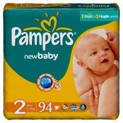Pampers New Baby 2 Mini Jumbo Pack 94xbuc