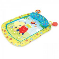 Bright Starts - Tiny Turtle & Friends Prop & Play Mat