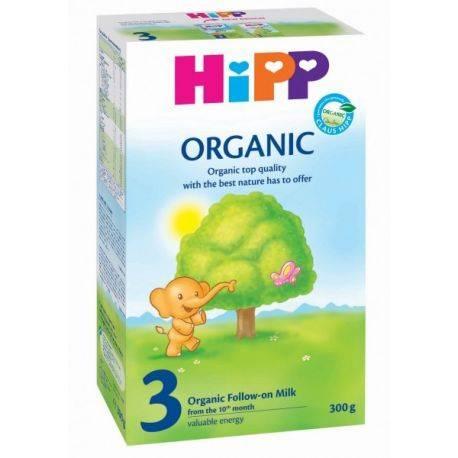 HIPP 3 BIO ORGANIC Formula lapte de continuare x 300g