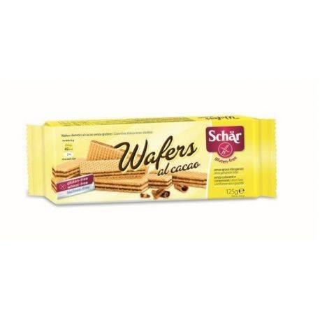 Waffers al Cacao Napolitane cu cacao, fara gluten x 125g Dr. Schar