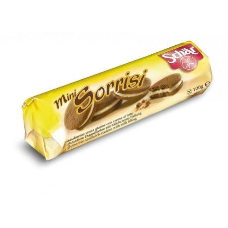 Mini Sorrisi Biscuiti cu cacao si crema de vanilie x 100g Dr. Schar