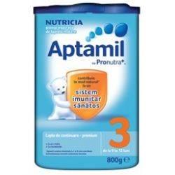 Lapte praf Nutricia Aptamil 3 X 800g