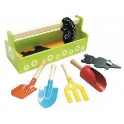 House of Toys - Set de unelte de gradinarit cu sort pentru copii