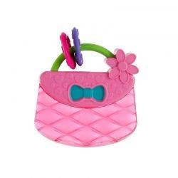 Posetuta Pretty in Pink Carry & Teethe Purse - Bright Starts