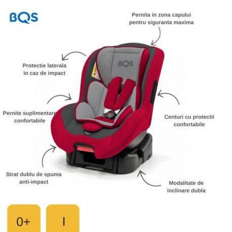 Scaun auto 0-18 kg Nonna Red BQS