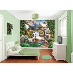 Tapet pentru Copii Jungle Adventure