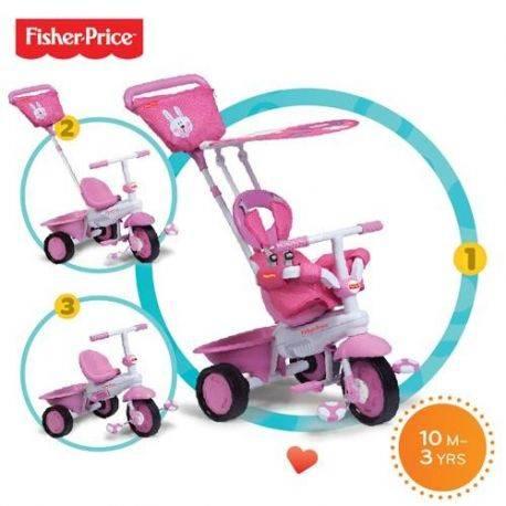 Tricicleta 3 in 1 Elite Roz