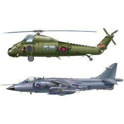 Set Elicopter si Avion de Lupta Falklands War