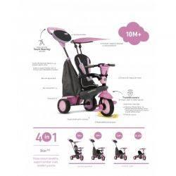 Smart Trike star pink