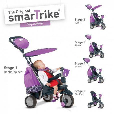 SMART-TRIKE SPLASH 5 IN 1 PURPLE