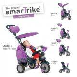 Tricicleta Smart Trike Splash 5 in 1 Purple