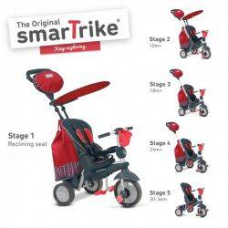 SMART-TRIKE SPLASH 5 IN 1 RED