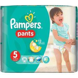 Pampers Active Girl 5 Junior Carry Pack 22xbuc