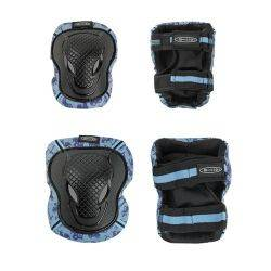 Set Protectii Micro knee elbow blue