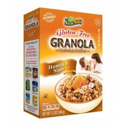 Granola Cereale fara gluten cu nuci si miere x 340g Sam Mills