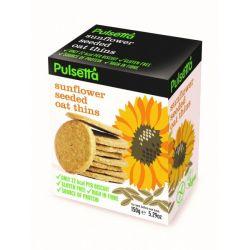 Biscuiti vegani fara gluten din ovaz cu seminte de floarea-soarelui x 150g Pulsetta