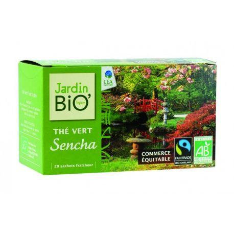 Ceai verde Sencha bio (20 plicuri) 40g JardinBio