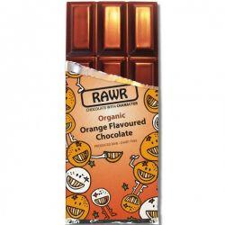 Ciocolata Organica cu gust de Portocale fara gluten x 60g Rawr