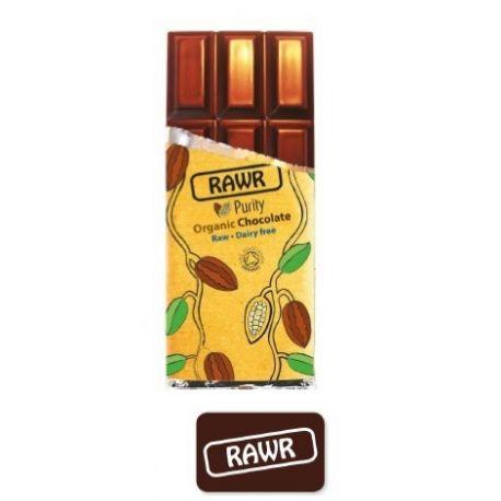 Ciocolata organica clasica fara gluten x 60g Rawr