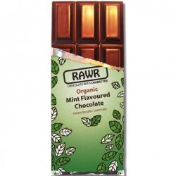 Ciocolata Organica cu gust de Menta x 60g Rawr