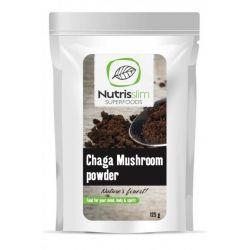 Pudra de ciuperci Chaga x 125g Nutrisslim