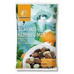 Seminte de dovleac in mix de ciocolata bio x 55g Landgarten