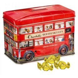 Churchill's - London Bus, cutie cu caramele englezesti x 200g