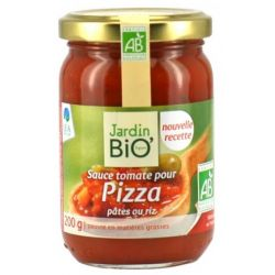Sos rosii pentru pizza, paste, orez bio x 200g JardinBio