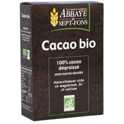 Abbaye de Sept-Fons Cacao pur bio x 200g