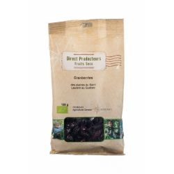 Merisoare indulcite cu suc de mere bio Canada x 125g Biothemis