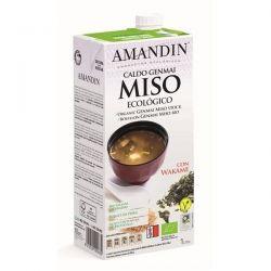 Supa Genmai Miso bio fara gluten x 1L Amandin