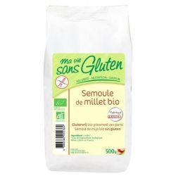 Gris de mei bio fara gluten x 500g Ma vie sans gluten