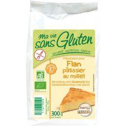 Preparat pentru flan cu mei fara gluten bio x 300g Ma vie sans gluten