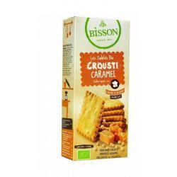 Bisson Biscuiti crocanti caramel crousti bio x 118g