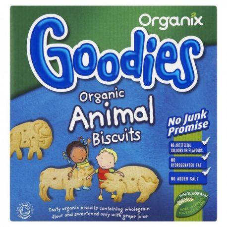 Biscuiti ECO animale 12+ x 100g Organix