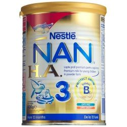 Lapte Praf Nestle Nan HA3 x 400g, de la 12 luni